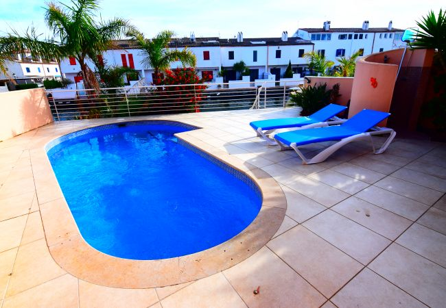 House in Empuriabrava - Nice up to date house with  privates pool and mooring-388