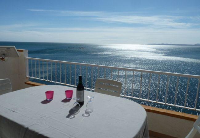Appartement à Rosas / Roses - Magnifique appartement avec vue mer et piscine-298