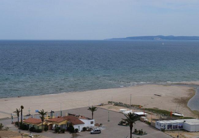 Studio à Empuriabrava - Appartement avec vue sur mer et en face de la plage-301