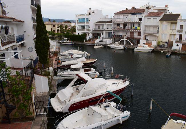Appartement à Empuriabrava - Bel appartement avec vue marina-337